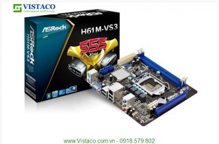 Mainboard ASROCK H61M-VS3 Box