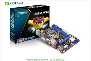 Mainboard ASROCK H61M-VS4 Box